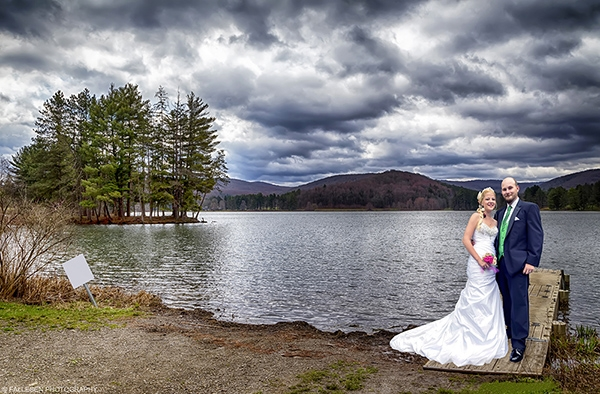 Band Wedding | Allegheny State Park, Red House Lake - Bride and Groom