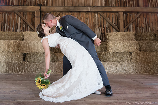 Heitzenrater Wedding | Lockport, NY - Bride and Groom Kiss