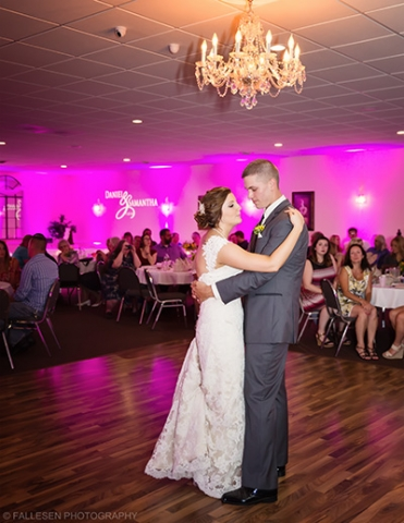 Heitzenrater Wedding | Lockport, NY - Bride and Groom Dance