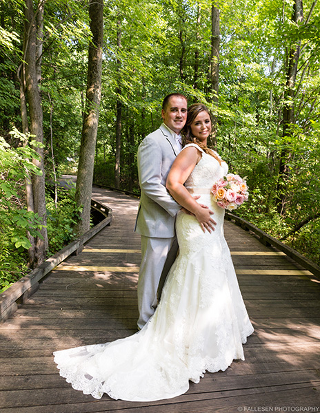 LiVoti Wedding | Akron, NY - Bride and Groom