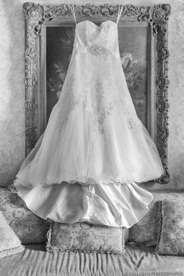 Herberger Wedding Buffalo,NY Wedding Gown Photograph by Fallesen Photography LLC
