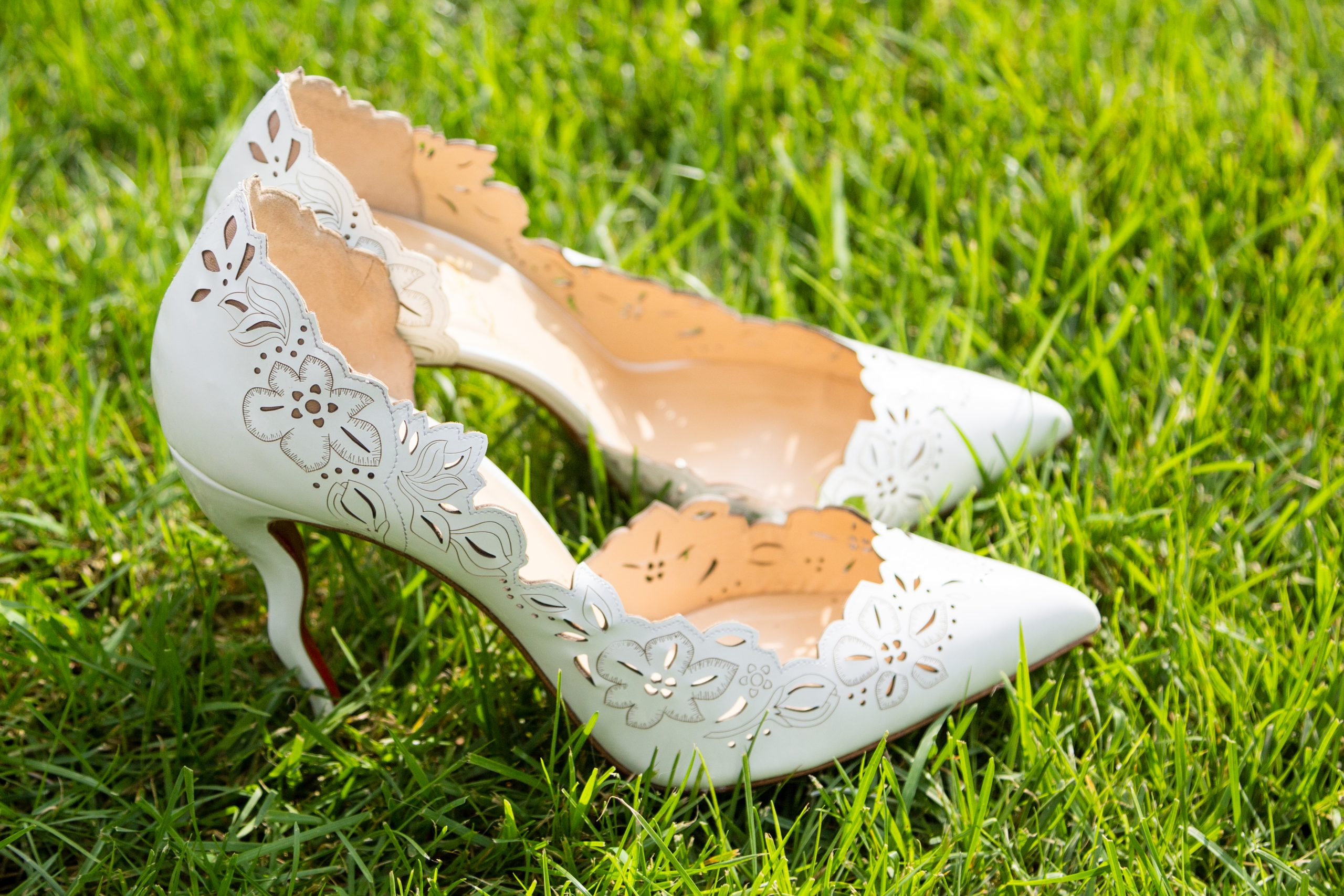 Before wedding photo Versace Shoes, Kirkwood Wedding, Samuels Grande Manor, Buffalo, NY by Fallesen Photography LLC