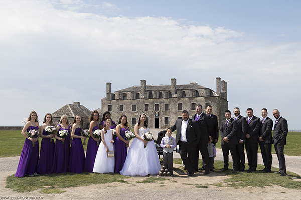 Cassick Wedding, Old Fort Niagara, Youngstown NY by Fallesen Photography