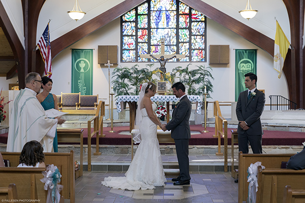 Logie Wedding at St. Gabriel's Church, Elma NY by Fallesen Photography