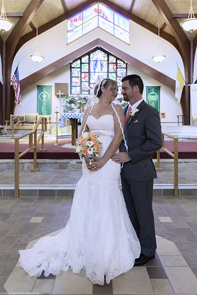 Logie Wedding in Elma, St. Gabriel's Church, Elma NY by Fallesen Photography