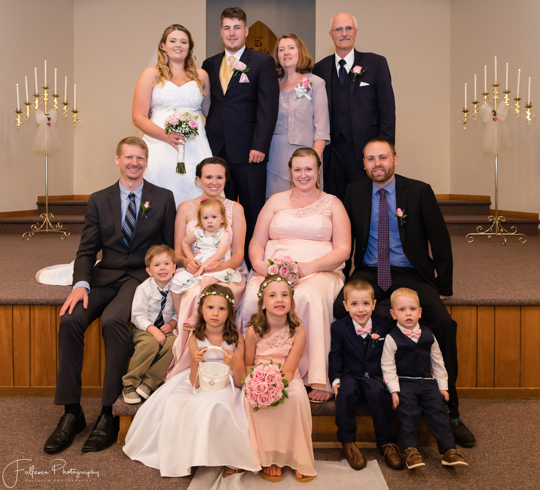 Lee Cliver Wedding, Grace Baptist Church, Brockport NY by Fallesen Photography