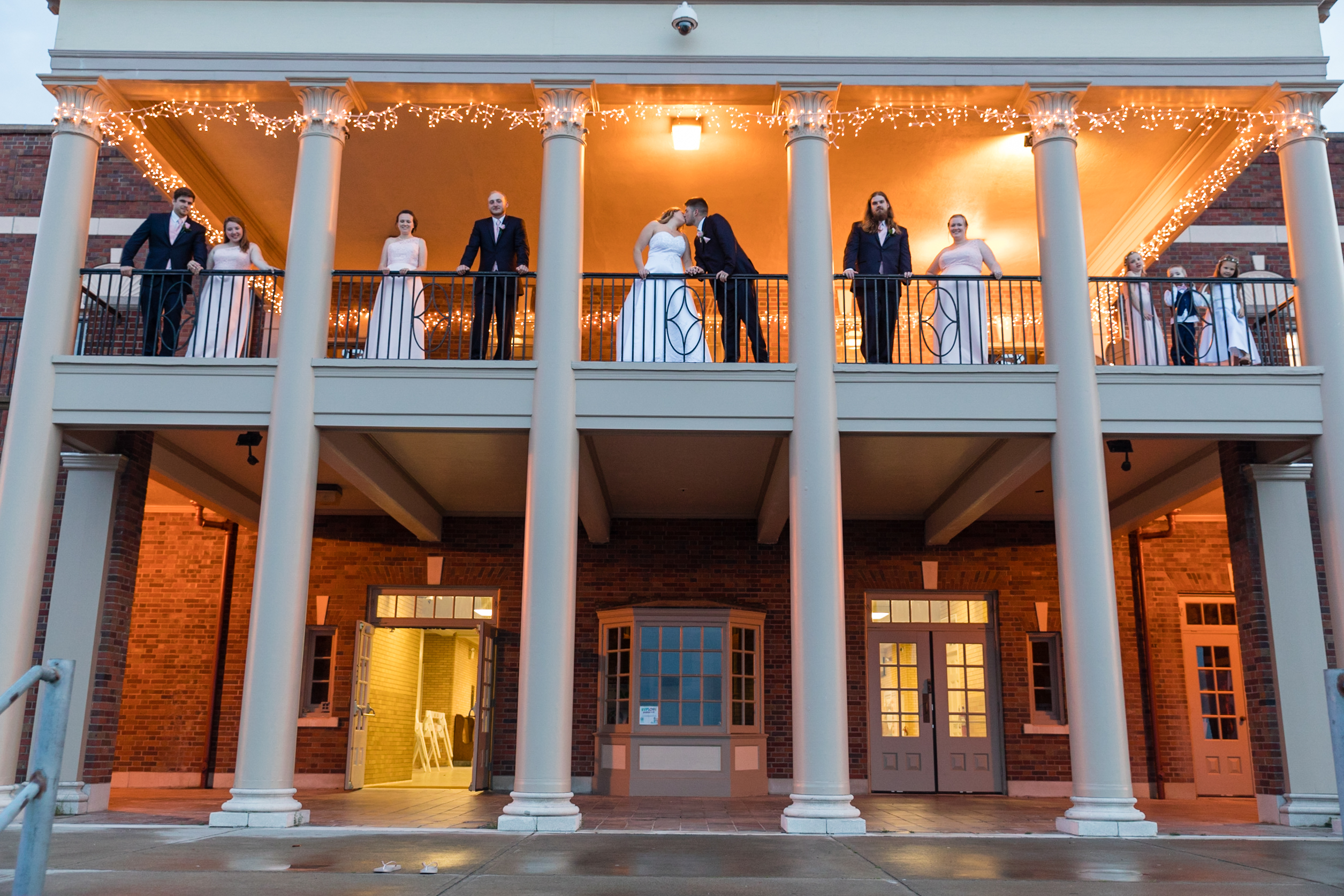 Lee Cliver Wedding, Roger Robach Community Center, Rochester NY, by Fallesen Photography